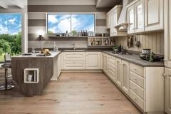 cucine classiche arredamenti sgrigna giove terni viterbo arex magda legno bianco2