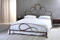 letti in ferro battuto arredamenti sgrigna giove terni viterbo casotto letti e complementi violetta corten
